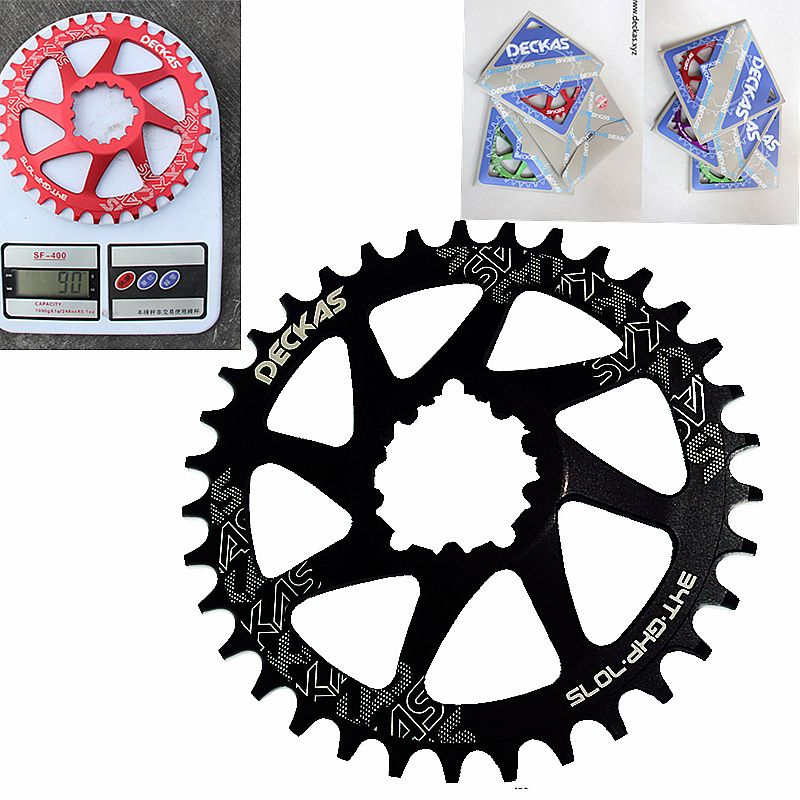 DECKAS GXP 32-38t MTB Bike Chainring Narrow Wide for Sram XX1 XO1 X1 GX XO X9