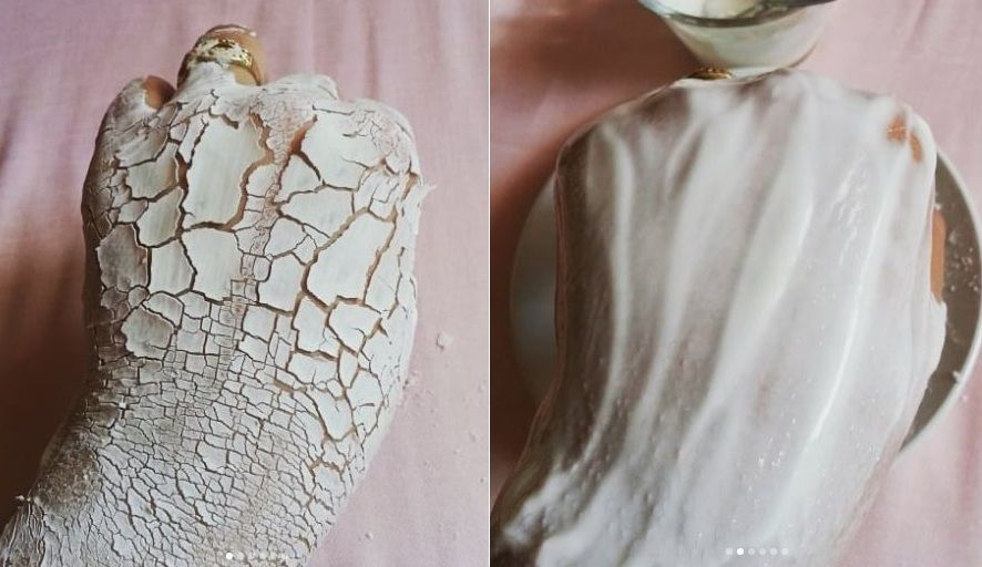 ماسك طبيعي بالياغورت والنشا لتوحيد لون البشرة والتخفيف من البقع البنية