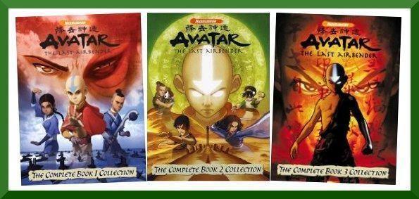 Avatar The Last Airbender Complete Tv Series Book 1 2 3 Season 1 2