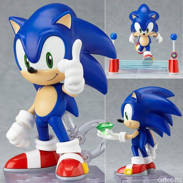 Sonic The Hedgehog Sega Nendoroid Style Figure Christmas Toys Hedgehog Sonic The Hedgehog