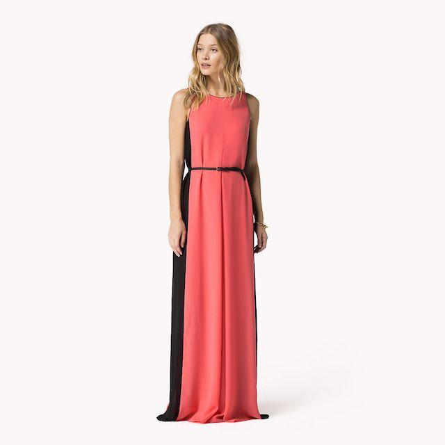 GiftBuzz - Gem Colourblock Dress | #Tommy Hilfiger A beautiful coral ...