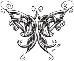 celtic butterfly by *roblfc1892 on deviantART