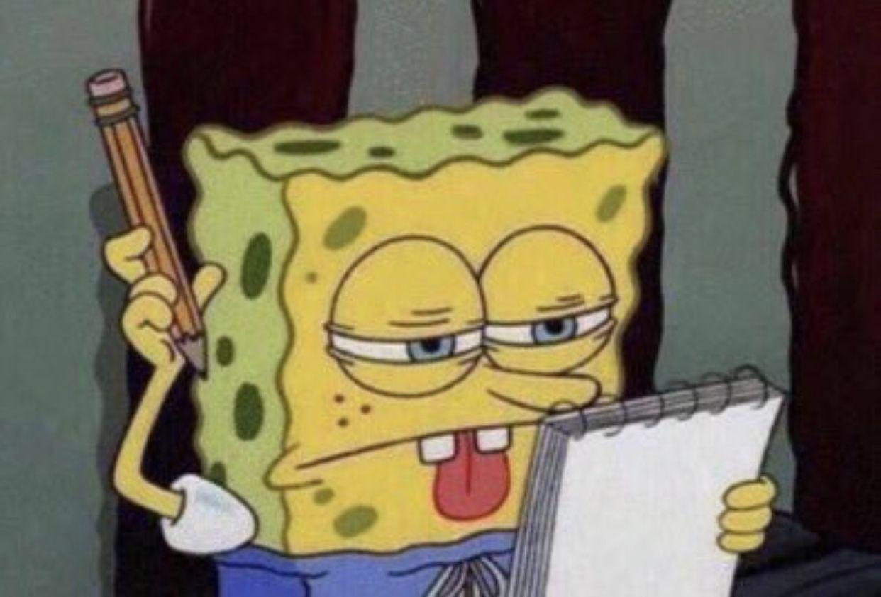 College essay topics best college essays college fun funny spongebob faces spongebob