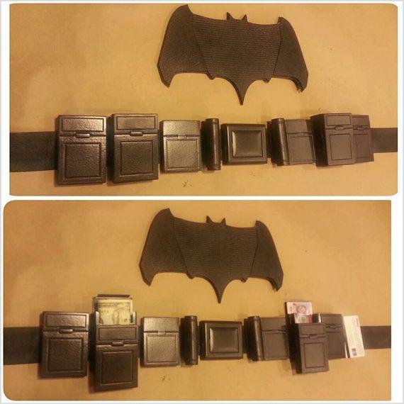 Batman Utility Belt Costume Cosplay Custom Dawn By Snakepitstudios