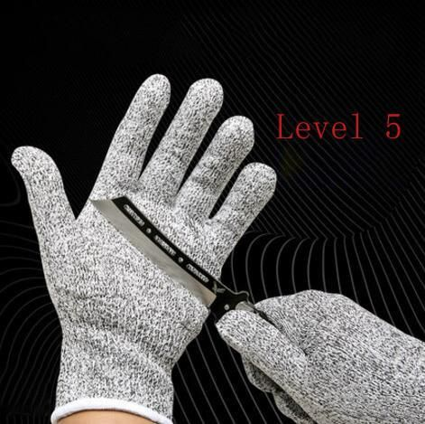 Hiking Clothings Anti-cut Hiking Gloves Safety Cut Proof Stab Resistant Stainless Steel Wire Metal Cut-resistant Back To Search Resultssports & Entertainment