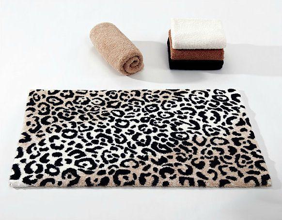 Bath Rugs Abyss Habidecor Leopard