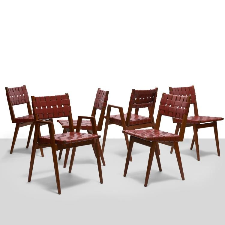 MCM U0027Wovenu0027 Dining Chairs By; Mel Smilow