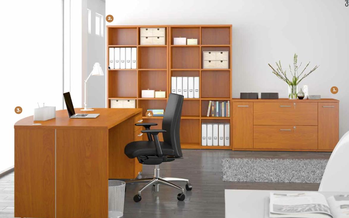 Büromöbel NEVADA weiß von Schäfer Shop | Büromöbel NEVADA von ...