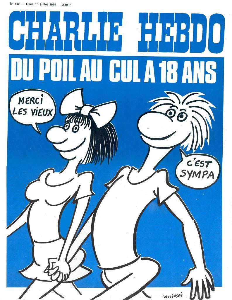 CHARLIE HEBDO 1974
