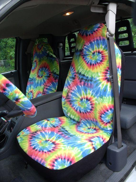 1 Set of Swirly Tie Dye Tie Dye Print Car Seat by ChaiLinSews | Tie ...