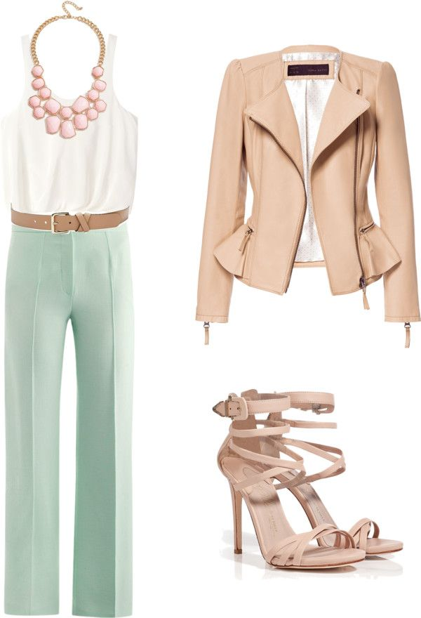Law Office Chic By Silverstone620 Liked On Polyvore