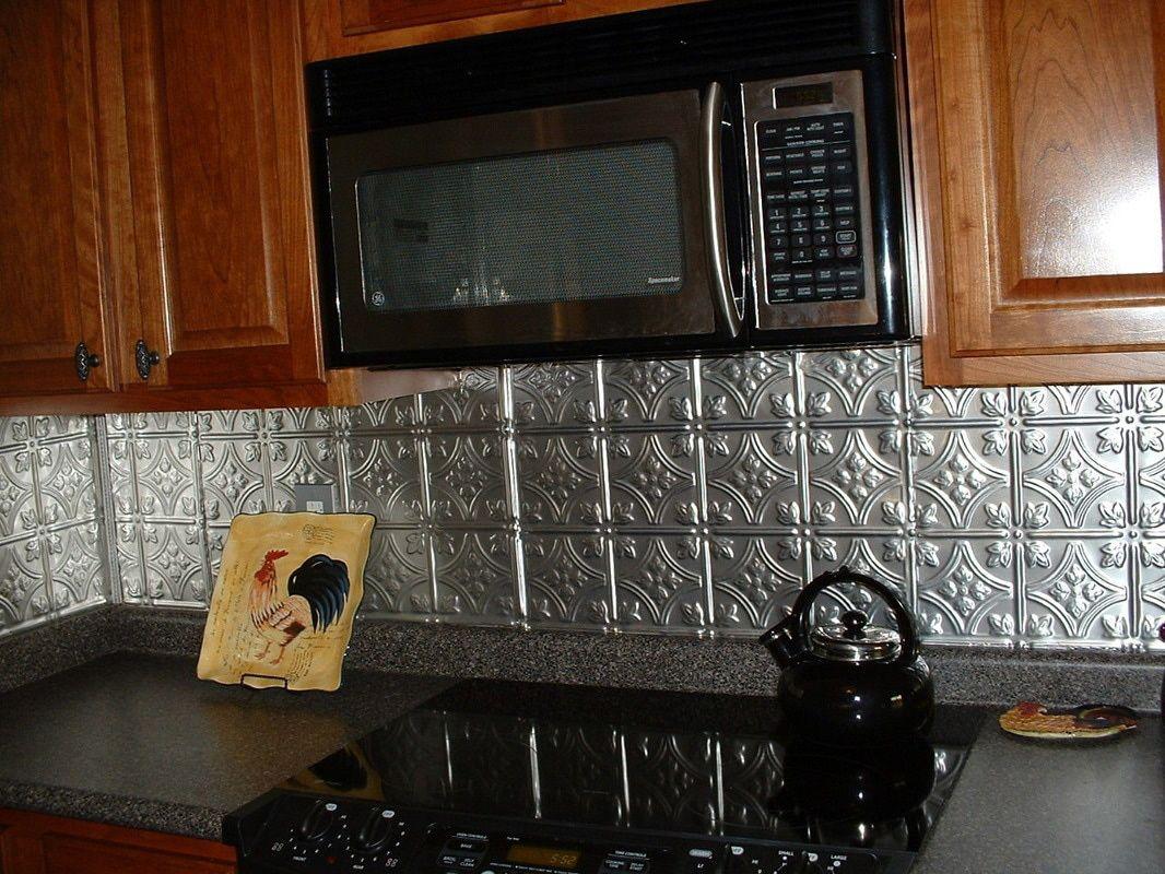 - Kitchen Backsplash Tin Tile Backsplash, Kitchen Backsplash