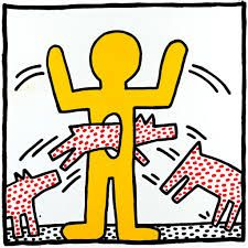 Keith Haring was definitely my childhood favorite (and still one today) :,-)