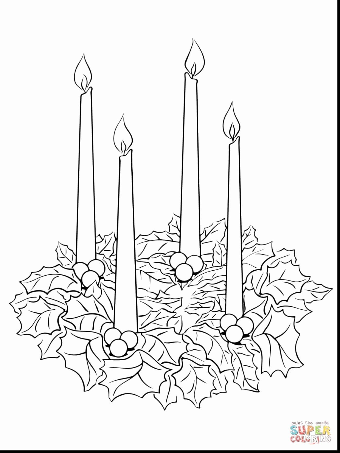 Advent Wreath Coloring Page Catholic Beautiful Beautiful Christmas Candles Coloring Page Super Colori Advent Coloring Christmas Coloring Pages Wreath Printable