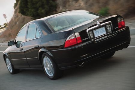 Lincoln Ls Sport With A Jaguar Build 3 9l V8 Hot Rod Lincoln