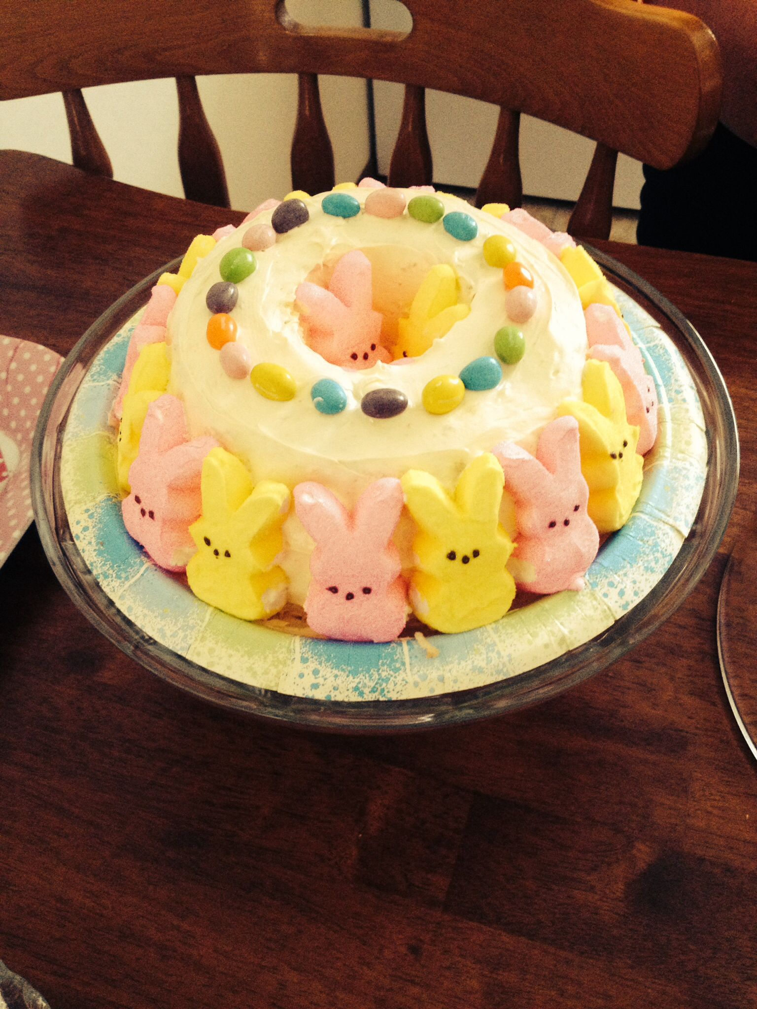 My Moms Easter Cake Buy One Angel Good Cake Buy Whipped Butter