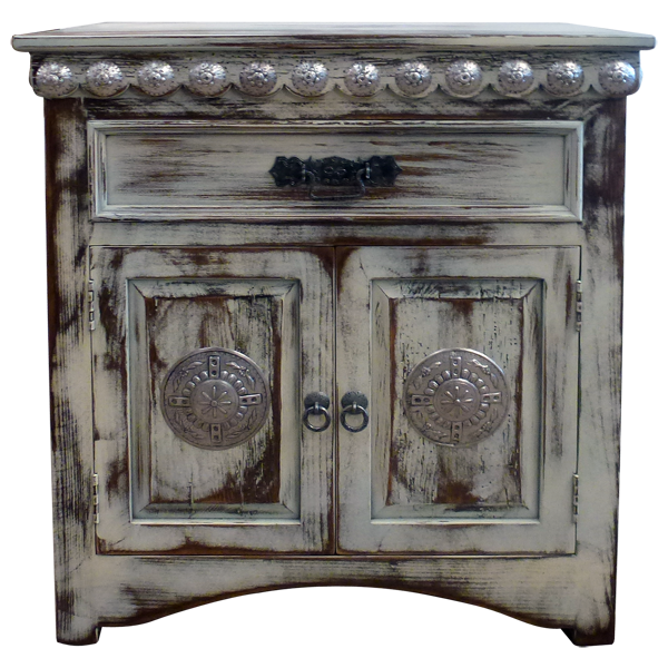 ... Rustic Furniture Las Cruces #32   Las Cruces VII End Table | Copper End  Tables ...