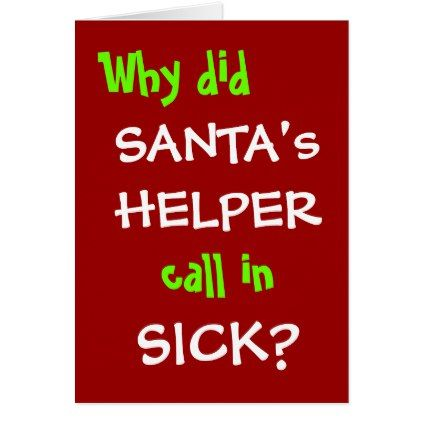 Funny Christmas Card Office Joke - Personalisable Office jokes and