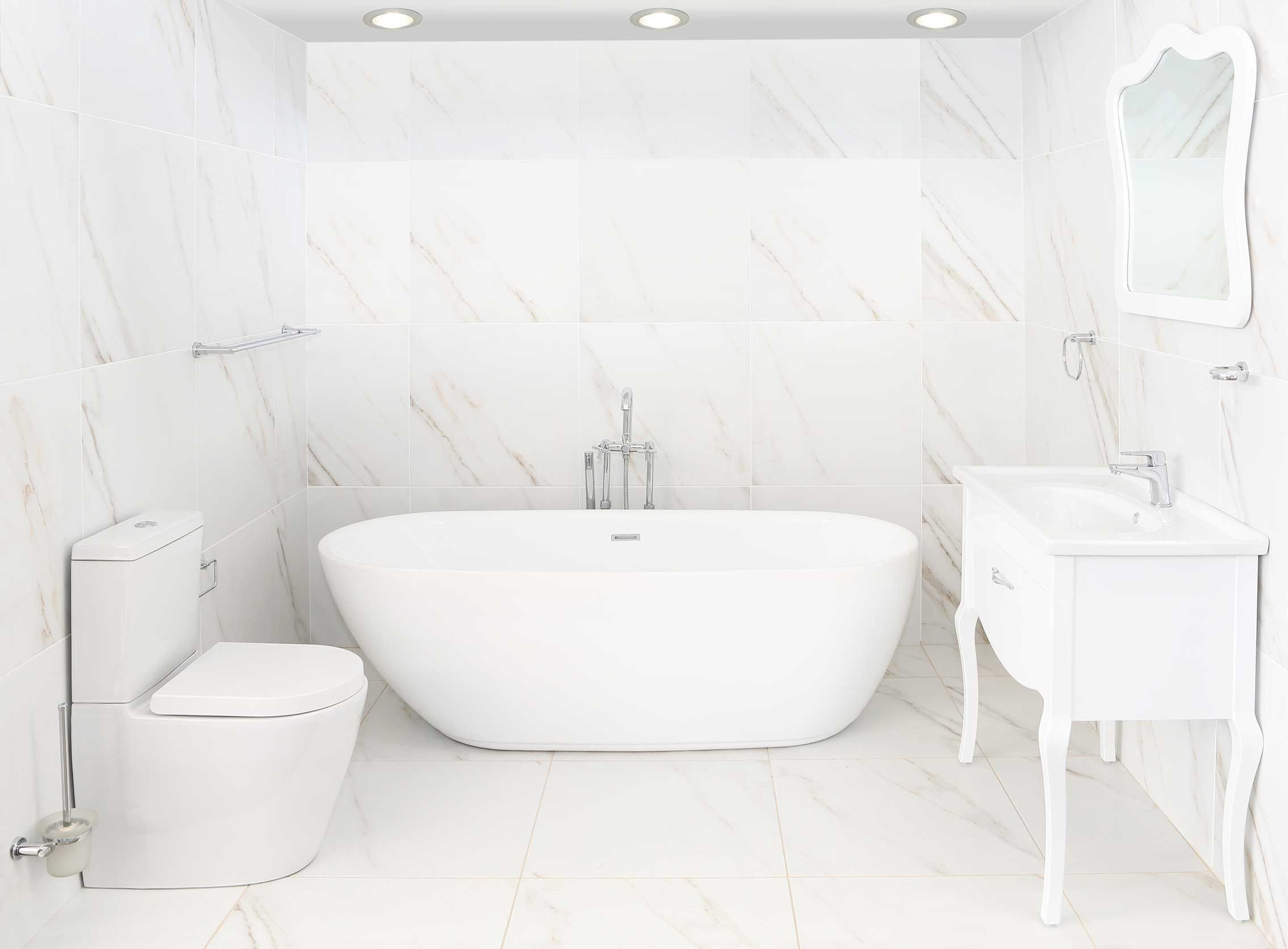 Esprit White Floor Tile | CTM | My loft 206 | Pinterest | Small ...