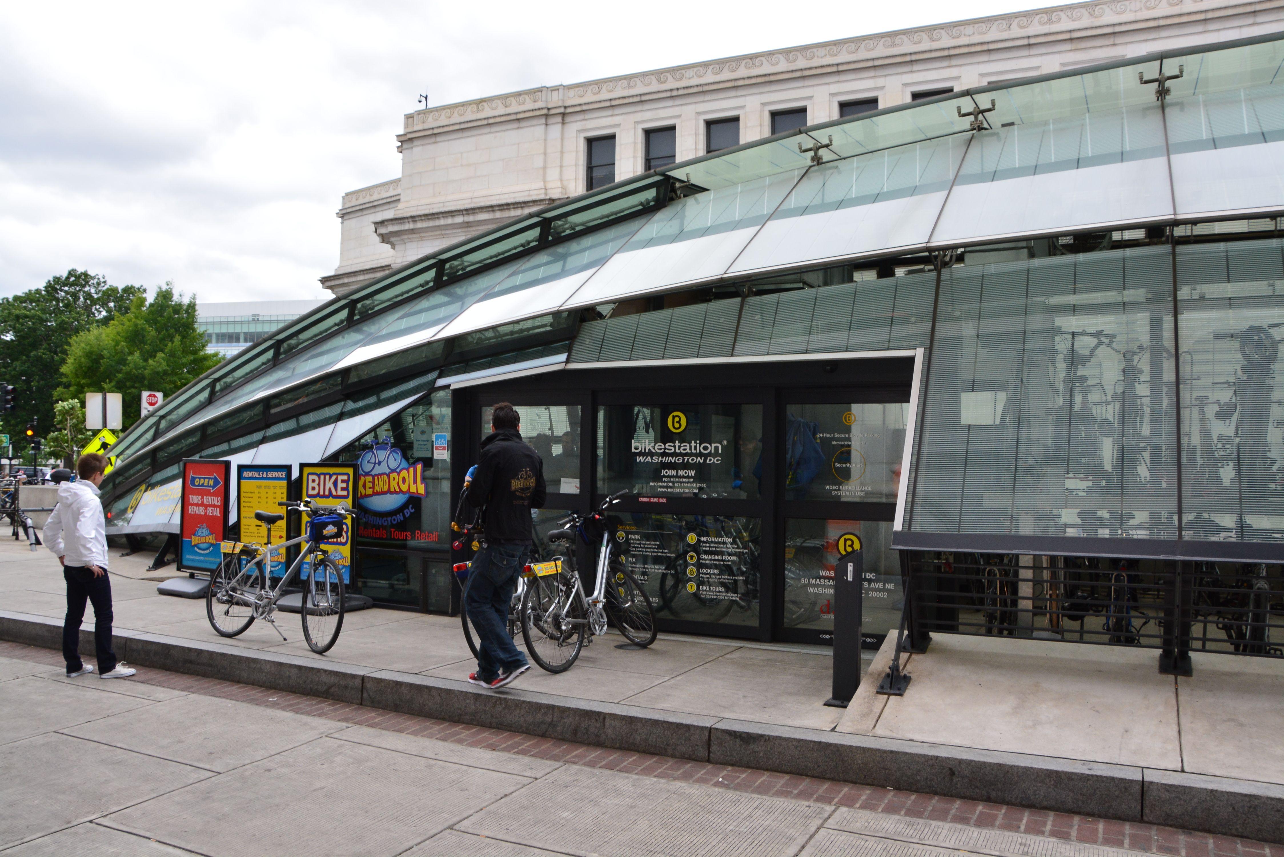 Union Station Bike Station Washington Dc Union Station Washington Dc Bike