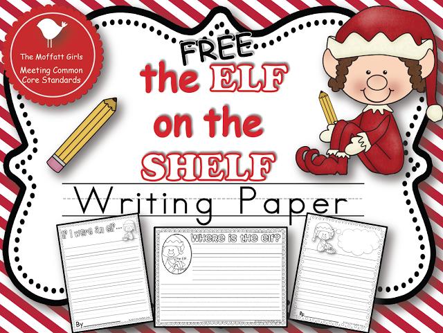 Free Elf On The Shelf Writing Paper Classroom Stuff