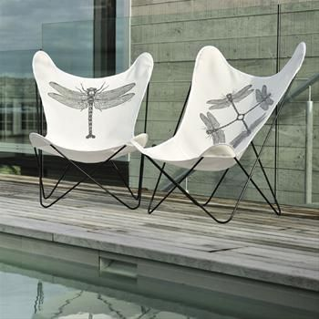 Outdoor Furniture -Dragonfly Flutter Butterfly chairs by Philippa ...