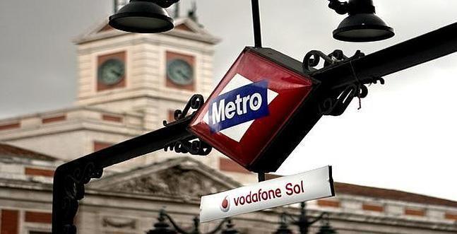 Metro del barrio de Sol