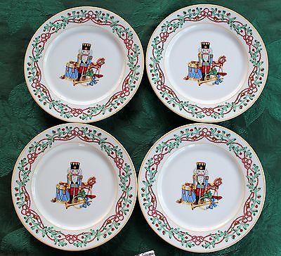 Whimsy Christmas Dessert Plates Set Of 4 Block Spal Portugal