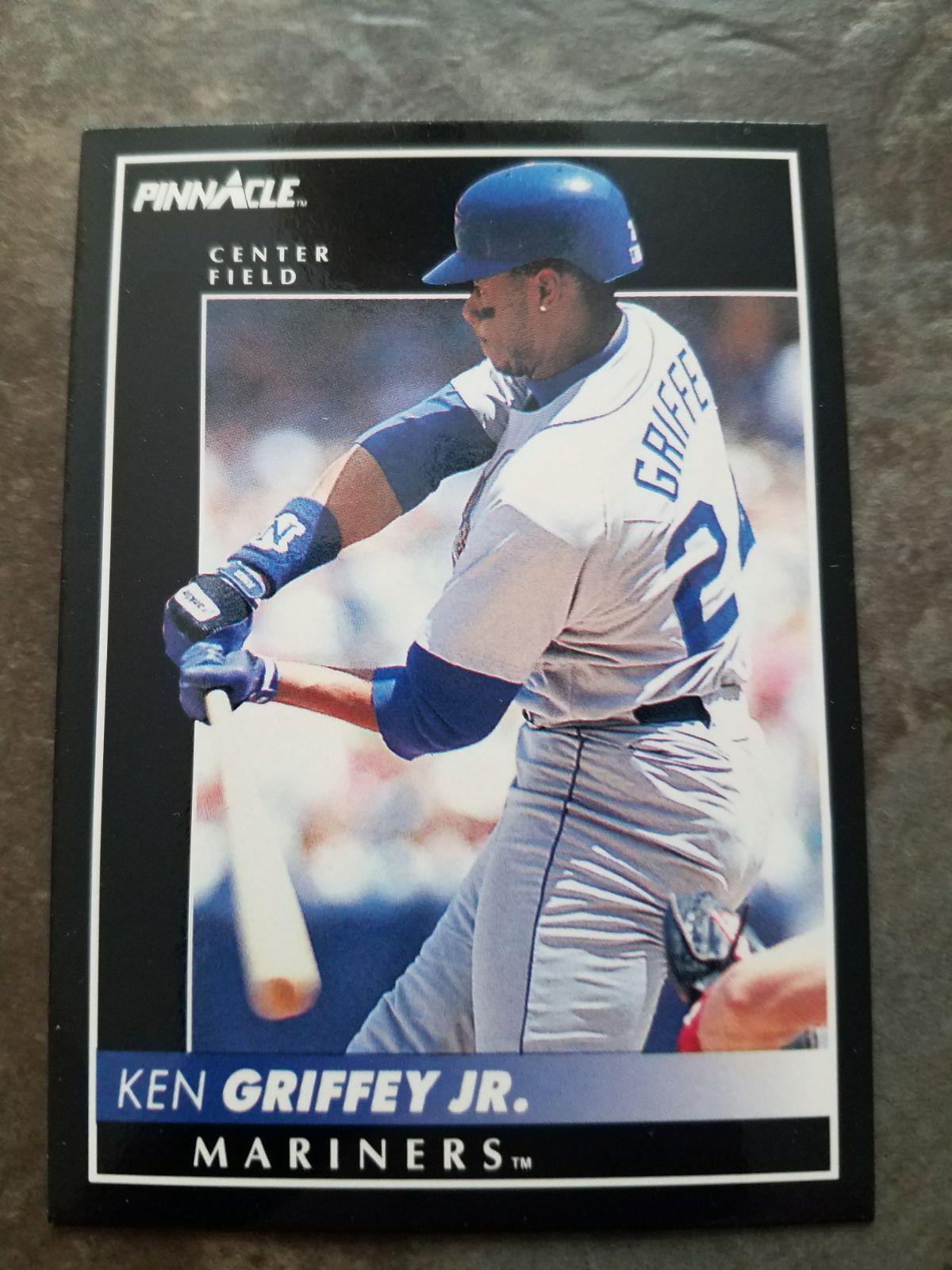 1992 pinnacle ken griffey jr 549 cards in perfect