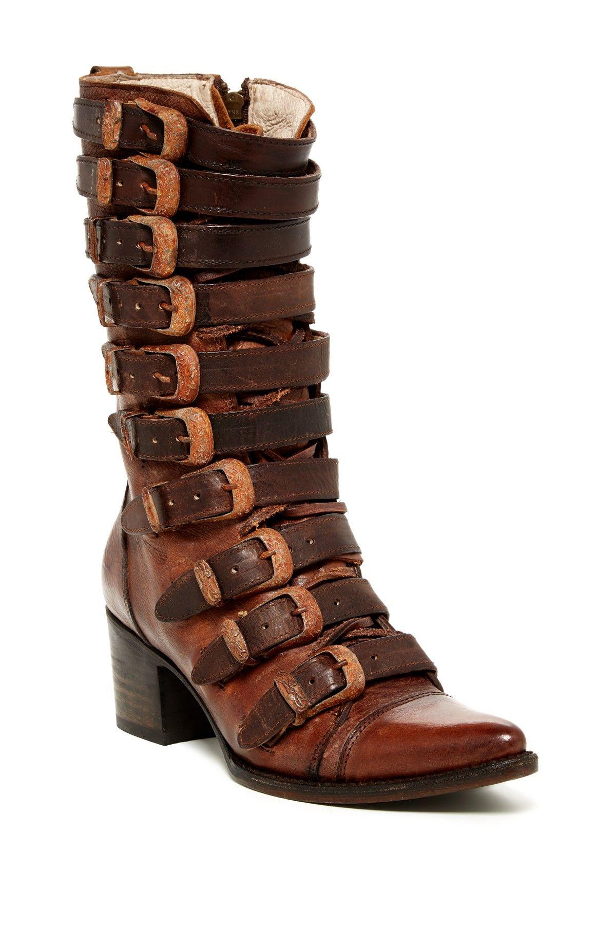 53b02685888 Stoke Buckle Cap Toe Boot by Steve Madden on @HauteLook   loafers ...