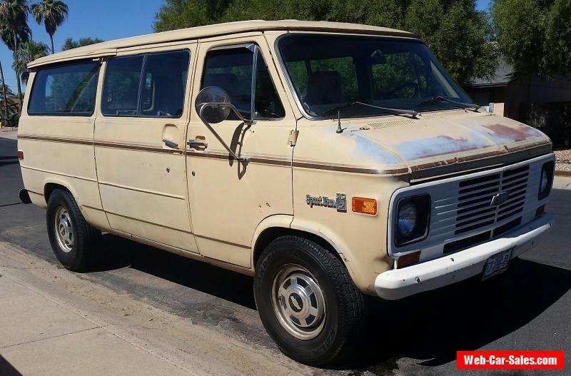 1977 Chevrolet G20 Van G30 Sport Van Chevrolet G20van Forsale