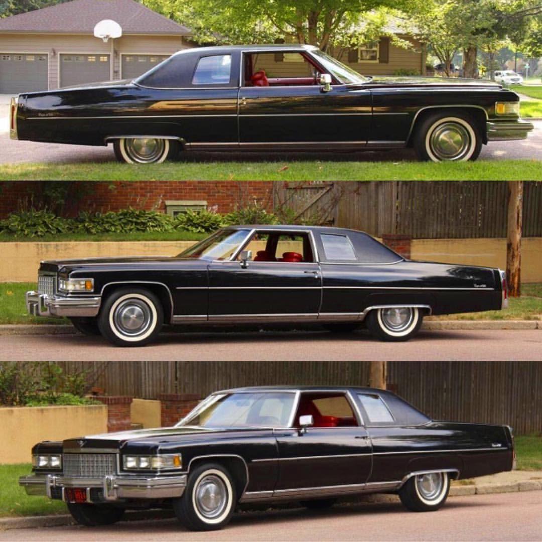 Pin On Cadillac 1971-76