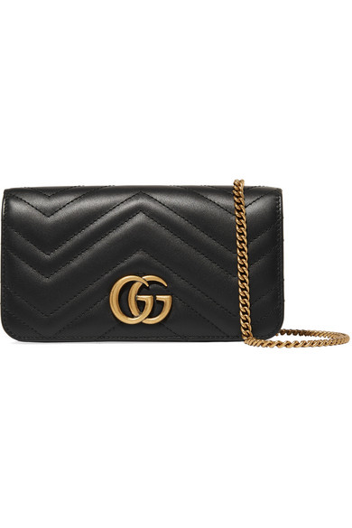 c4983569d7f798 Gucci - GG Marmont mini quilted leather shoulder bag | Clothes