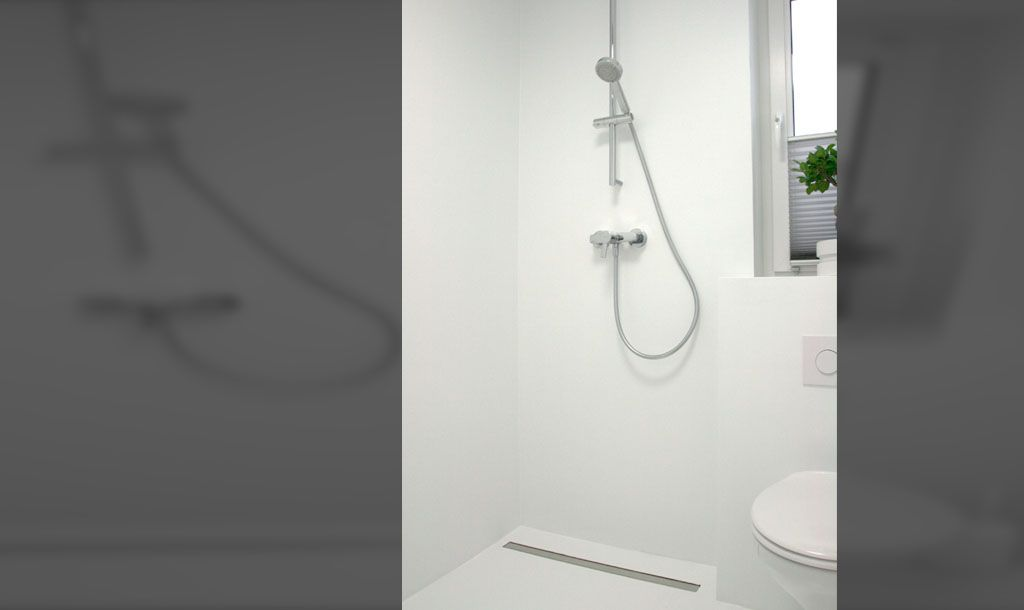 PU Gussboden, Badezimmer Ohne Fliesen, Keine Fliesen Im Bad, Gussboden  Erfahrungen, Designideen