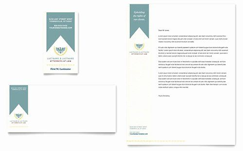 Law Firm Letterhead Templates Awesome Free Letterhead Template Word & Publisher ...