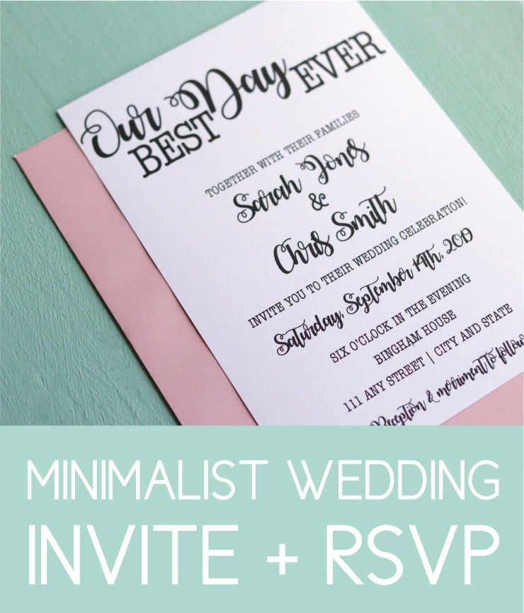 15 Bold Wedding Invites Perfect for the Modern Bride (With images ...