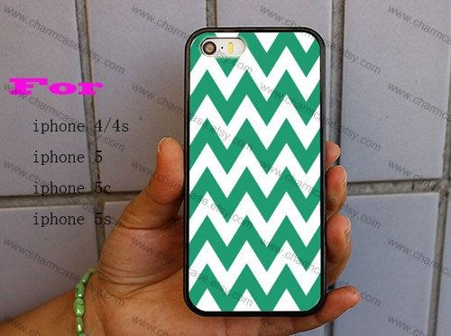Blue and white Chevron Personalized iPhone case iPhone 5 case iphone 5c case  iphone 5s case iPhone 4 4s case on Wanelo e4c649077