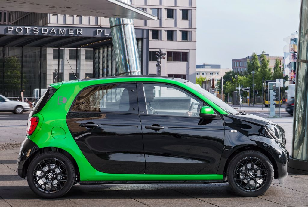 Smart Forfour Electric Drive W453 2017