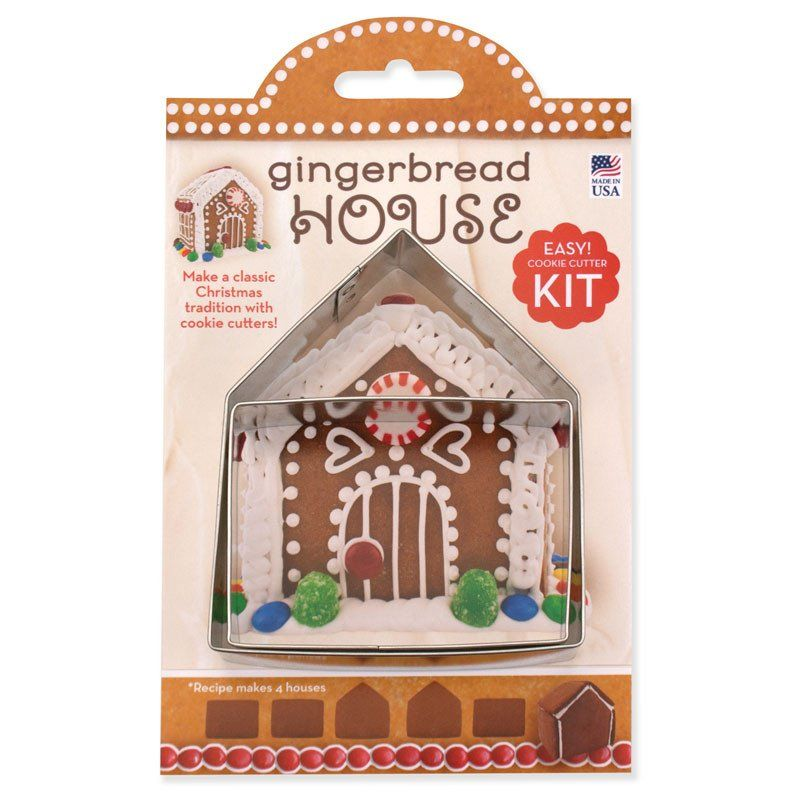 Gingerbread SET 2 pc House Cookie Cutter