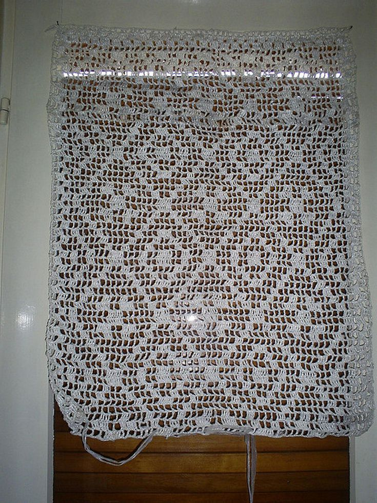 Crochet Your Own Curtains with These Free Patterns   Pinterest