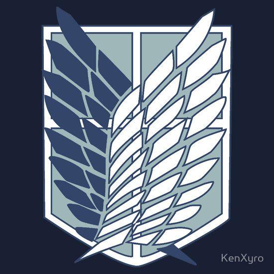 Shingeki No Kyojin Survey Corps Logo Symbol By Kenxyro Attack On Titan Tattoo Attack On Titan Titans