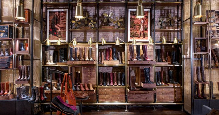 The Frye Company flagship store by AvroKo, New York
