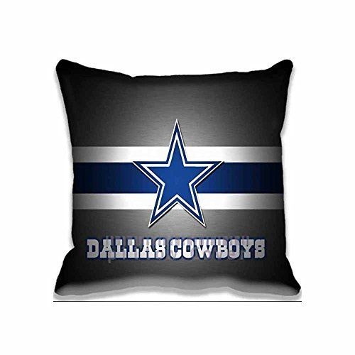 Generic Throw Pillow Case Dallas Cowboy Logo Sport Cushion Cover Interesting Dallas Cowboys Decorative Pillow