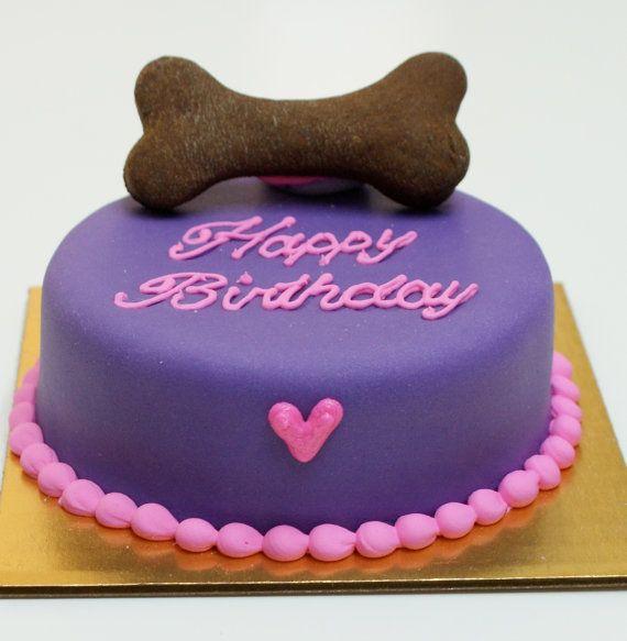 Daisy cake dog birthday cake