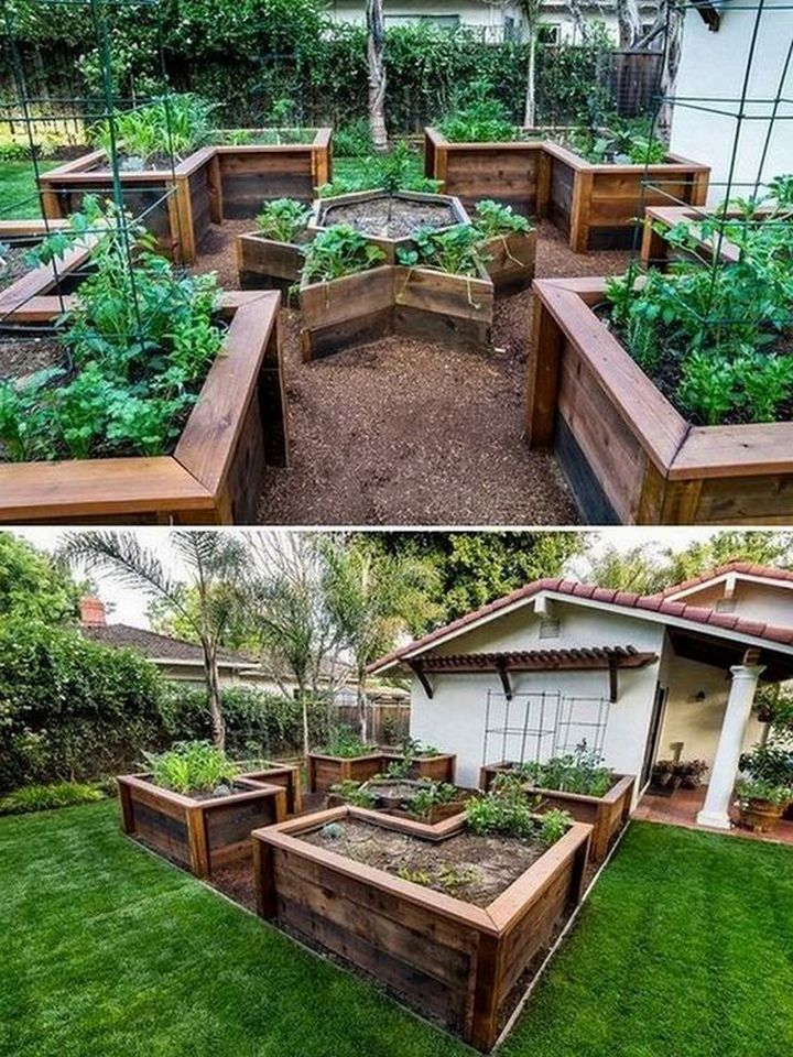 48 models of DIY home garden projects in 2020 | Diy raised ...