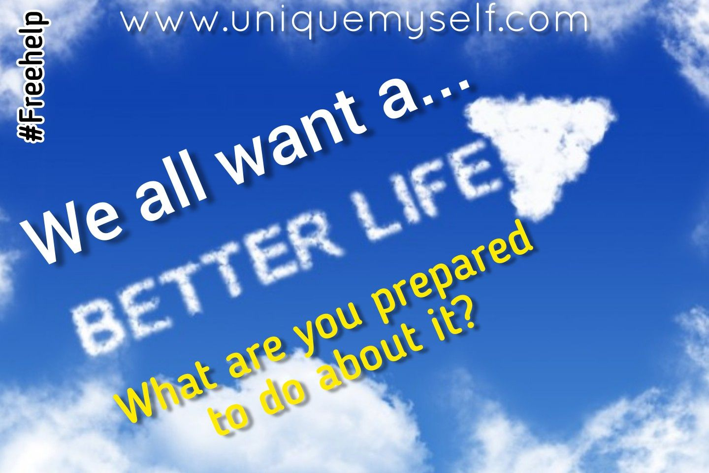 We all talk about having a better life, but how many of us actually do something about it. What are you prepared to do to improve your life situation right now?  #improveyourlife #betterlife #actnow #nevergiveup