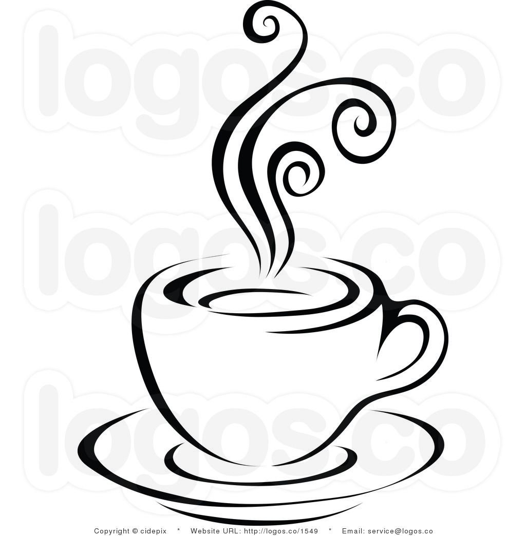 Coffee Clipart Black And White Clipart Panda
