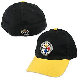 5dea1c6bd Get this Pittsburgh Steelers Two Tone Flex Fit Cap at ThePittsburghFan.com