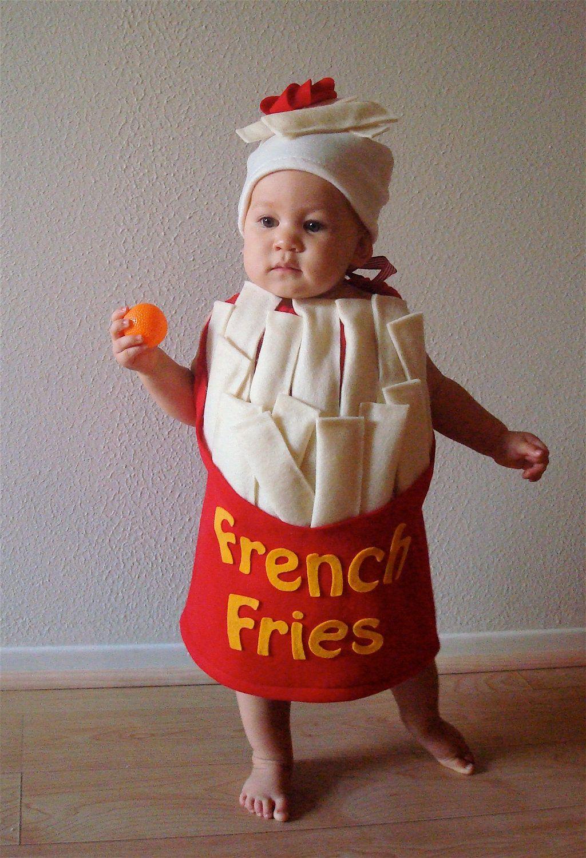 Kids Costume French Fry Costume Halloween Costume Cosplay