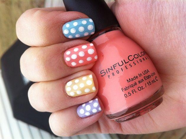 Jlsrules shares these pastel polka dots: